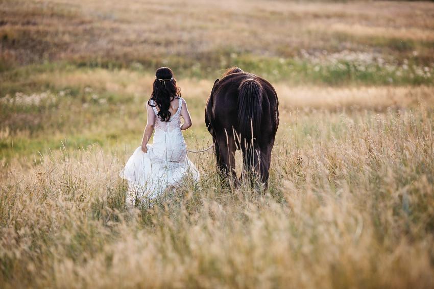 colorado mountain meadow wedding